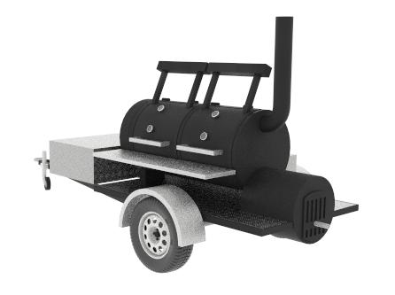 смокер на колесах